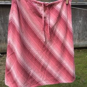 Old Navy Striped Cotton Skirt sz 10